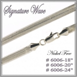 Signature Wave Chain - Silver