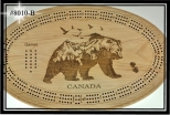 Cribbage Board (Full Bear)