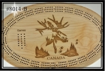 Cribbage Board ( Moose Head)
