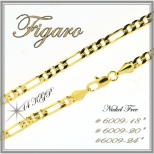 Figaro Chain - Gold