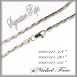 Signature Rope Chain - Silver